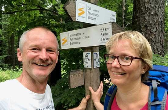 Wanderurlaub am Goldsteigwanderweg